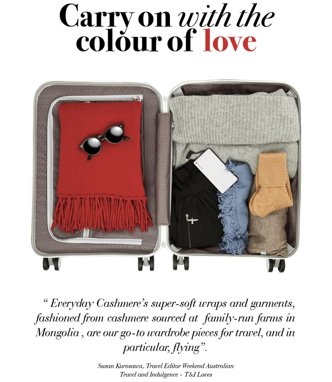 Let The Colour Of Love Into Your Wardrobe