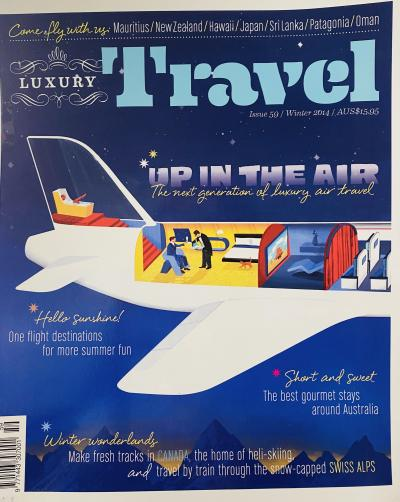 Up in the air with Luxury Travel Magazine