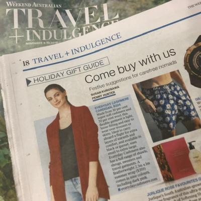 The Weekend Australian - Travel and Indulgence Holiday Gift Guide