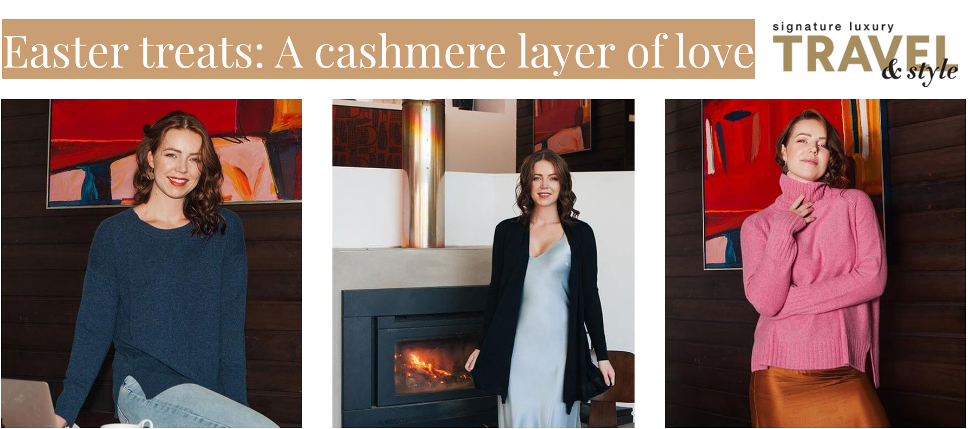 Signature Luxury Travel & Style -Easter treats: A cashmere layer of love