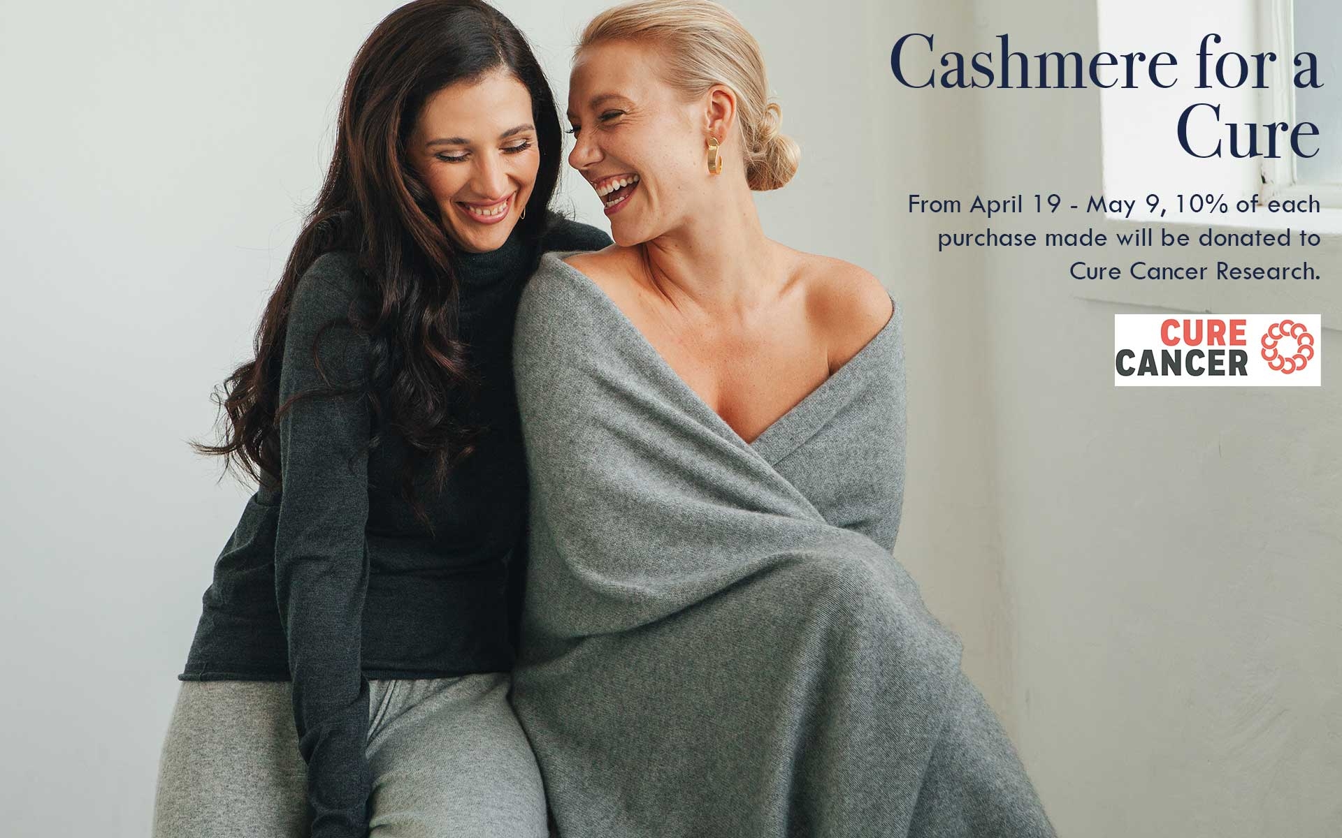 Cashmere for a Cure