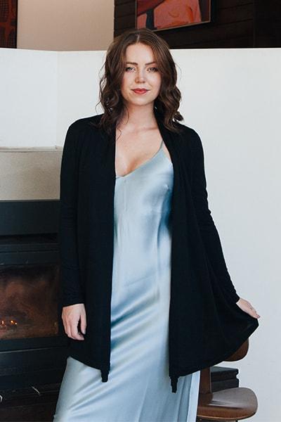 Pilar Wrap Cardigan